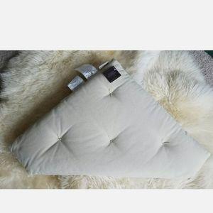 NEW Pottery Barn Tan Tufted Corner Bench Cushion